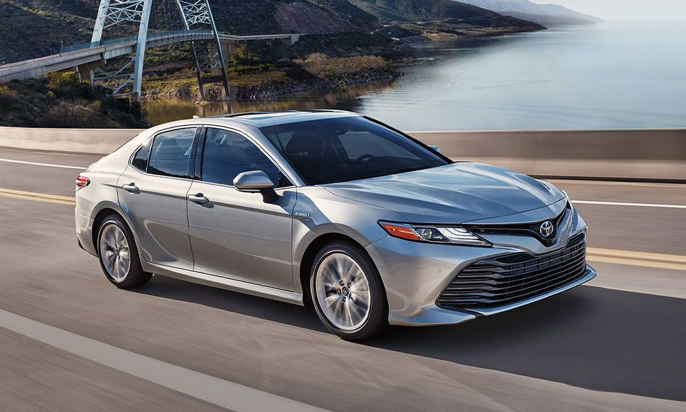 2020 Camry Hybrid at Brimell Toyota